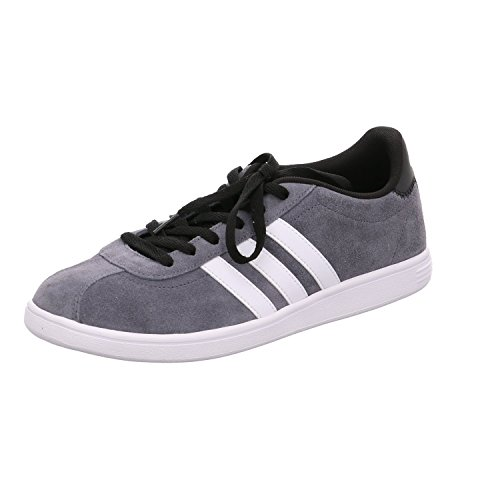 adidas Vlcourt Baskets Basses Homme gris