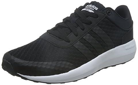 adidas Cloudfoam Race, Chaussures de Sport Homme, Noir (Negbas / Negbas / Ftwbla), 41 1/3 EU
