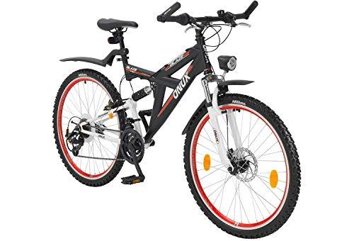 tretwerk DIREKT gute Räder Onux Blaze 26 Zoll ATB Schwarz, Jungen-Herren-Mountainbike