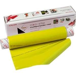 dycem anti rutsch folie auf rolle 1 m x 40 cm gelb drogerie k rperpflege. Black Bedroom Furniture Sets. Home Design Ideas