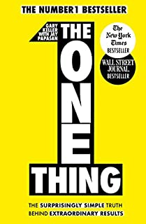 The One Thing: The Surprisingly Simple Truth Behind Extraordinary Results (1848549253) | Amazon price tracker / tracking, Amazon price history charts, Amazon price watches, Amazon price drop alerts