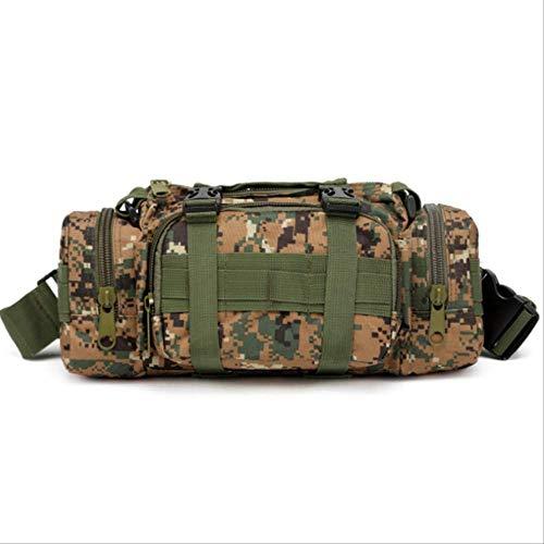 Muro Outdoor Militärische Taktische Taille Tasche wasserdicht Nylon Camping Wandern Rucksack Tasche Handtasche militärische Bolsa Stil Mochila Grüner Dschungel -