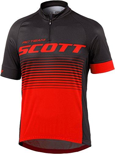 Scott RC Team 20 Fahrrad Trikot kurz schwarz/rot 2017: Größe: M (46/48)