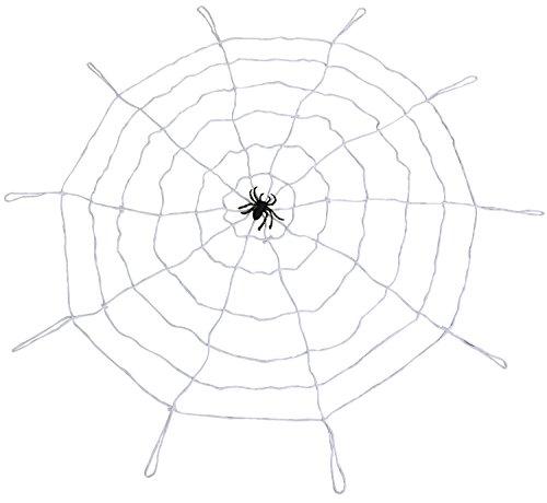 Trixes Gruseliges riesiges weißes Spinnennetz zur Halloween Dekoration (Riesigen Spinnennetz Halloween Dekoration)