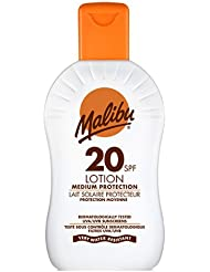 Malibu Crème solaire Protection moyenne SPF 20 200 ml