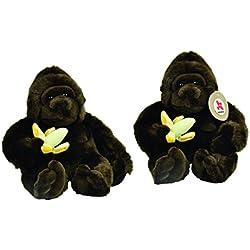 Nicotoy peluche gorila con plátano 25cm