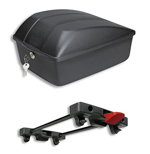 KLICKfix Fahrradbox 12L für Racktime Träger