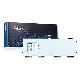 6800mAh Batterytec® Batterie pour SAMSUNG Galaxy Tab 3 10.1, GT-P5200, GT-P5210, T4500E, P5200 P5210. [3.8V 6800mAh, 12 mois de garantie]