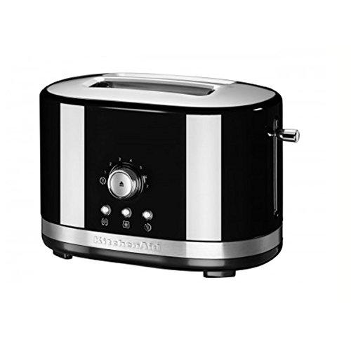 KitchenAid 5KMT2116EOB Manueller 2-er Toaster, onxy schwarz