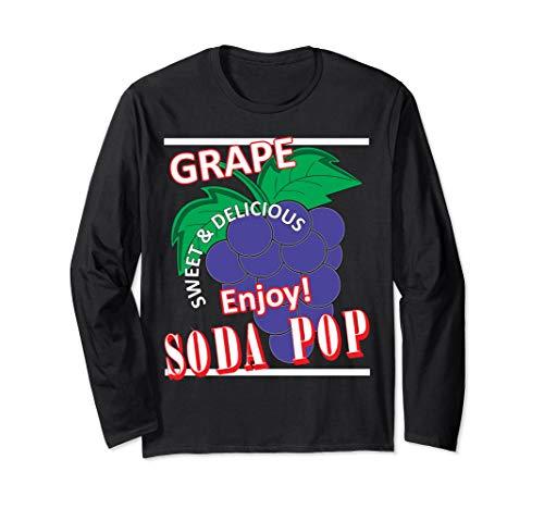 Soda Pop Kostüm - Soda Pop Kostüm Traubengeschmack Bunte passende