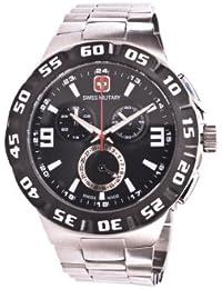 Swiss Military Hanowa SM10065 - Reloj para hombres, correa de acero inoxidable