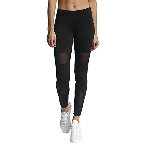 Only Damen Leggings Skinny Fit Damenhose Hose Black/Small Mesh S