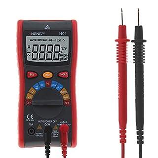 ANENG ANH01 Digital Multimeter Auto Range 4000 Counts AC/DC Ammeter Voltmeter Voltage Current Ohm Meter Mesuring Tools +Test Leads