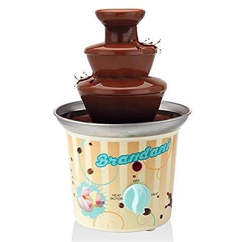 BIRICHINO Fontaine de chocolat Inox/PP