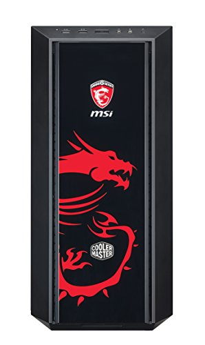 Cooler Master MasterBox 5 MSI Gaming Edition Midi-Tower Nero, Rosso