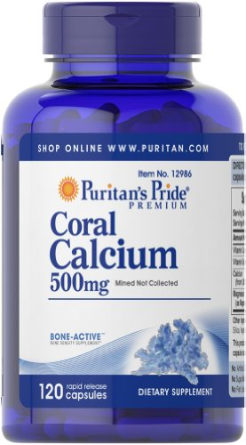 Calcium 500 Plus Vitamin (Coral Calcium 500 mg plus vitamin & magnesium 120 Kapseln 12986)