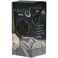 ail noir el hortal - antioxydant naturel, 3 Têtes (1 pack), Espagne