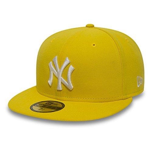 New Era 59Fifty Cap mit UD Bandana New York Yankees Yellow/White #2845-7 1/4 -
