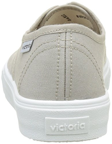 Victoria Ingles Lona, Baskets Basses Mixte Adulte Beige (Beige)