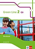 Green Line 2 G9: Workbook mit Audio-CD Klasse 6 (Green Line G9. Ausgabe ab 2015)