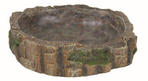 Trixie Reptile Regenwald Dekoration Wasser und Nahrung, Schüssel, 13x 3,5x 11cm