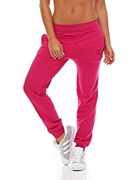 97f84e5e694584 Gennadi Hoppe Damen Jogginghose Trainingshose Sweat Pants Sporthose Fitness  Hose