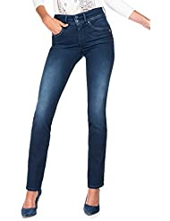 Salsa - Jeans Push In Secret jambe slim avec détail fermetures éclair - Femme