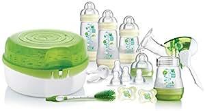 MAM Breastfeeding and Steriliser Starter Set