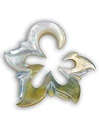 Fly Style® - 1 Stück - Expander Dehnungssichel aus Perlmutt - Blüte