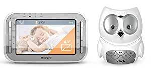 vtech safe and sound owl colour video and audio baby monitor baby. Black Bedroom Furniture Sets. Home Design Ideas