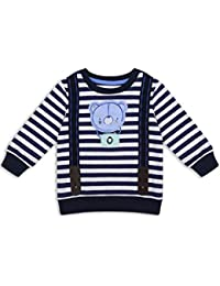 The Essential One - Bebé Infantil Niños Sudadera - Azul de Mar/Blanco - EOT181