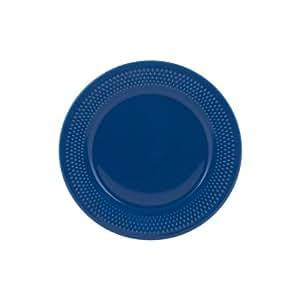 genevieve lethu grain de riz indigo assiette plate d27 5 cuisine maison. Black Bedroom Furniture Sets. Home Design Ideas
