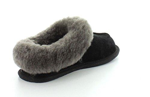 Ugg Australia Womens Moraene Leather Sandals Schwarz