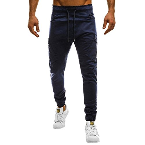 82a3a72a70ed MOIKA Herren-Hosen Slim Fit, Chino Hose Herren Freizeithose Jogginghose    Herren-Hosen Sport Style  Stoffhose für Männer Jogging Hose Lang   Jogger  Jeans ...