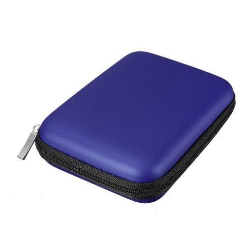 Preisvergleich Produktbild FORTAG Hardcase Tasche für externe Festplatte 2,5 Zoll Schutzhülle in Blau