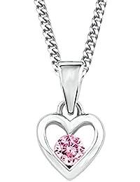 d7cbde877482 Prinzessin Lillifee Kinder-Kette mit Anhänger Herz längenverstellbar 925  Silber…