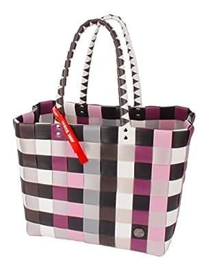 Witzgall wG5010 iCE-bAG sac cabas en kunststoffbändern 37 cm x 24 cm x 28 cm, lila, braun, rosa, schwarz, silbergrau (Multicolore) - 5010-91