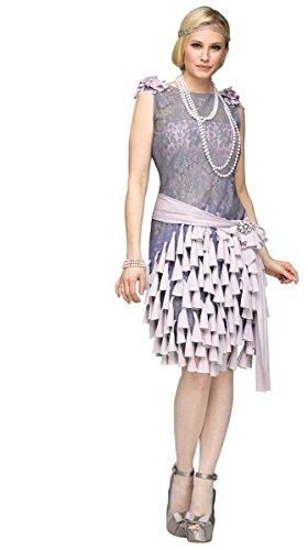 20er Jahre Kostüm für Damen - Der große Gatsby Daisy - S (Gatsby-kostüme Der Große)
