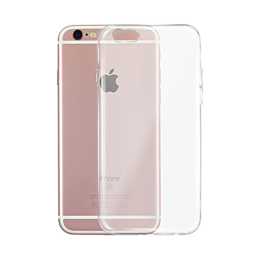 Tenmangu Funda para iPhone 6/6S, Suave TPU Transparente Case Cover el iPhone 6/6S (Claro)