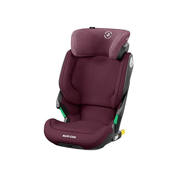 Maxi-Cosi Kore i-Size Child Car Seat, 3.5 - 12 years, 100 - 150 cm, Authentic Red Maxi-Cosi Child car seat, suitable to use from 3.5 to 12 years (approx from 100 cm to 150 cm) ISOFIX installation is possible with this group 2/3 car seat for optimal stability Quick and easy to buckle up: This ISOFIX car seat is designed to enable children to get in and out and buckle up on their own in a few seconds 1