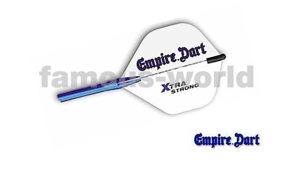 Aluminium Farbe:Schrarz 21945 5 Satz 15 Empire-Dart-Flightschutz,