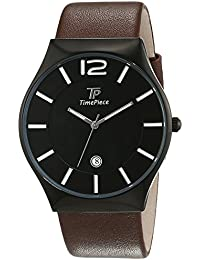 Reloj de pulsera para hombre-reloj analógico de cuarzo Classic piel TPGS-32416-21L