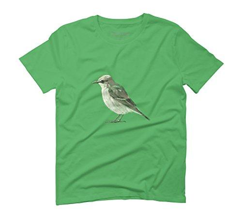 Tweet Men's Graphic T-Shirt - Design By Humans Green