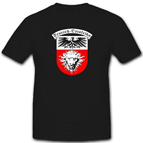 DOA Deutsch-Ostafrika Deutschland Deutsche Kolonie Wappen Kaiserreich Preußen Adler Afrika- T Shirt #7539