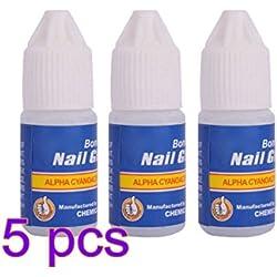 dabbie profesional Bottle Acrílico Pegamento de uñas Nail Art Falso Tips DIY Rhinestones Manicura Herramientas