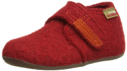 Living Kitzbühel Unisex Baby Babyklettschuh Krabbel-& Hausschuhe, (rot 350), 20 EU