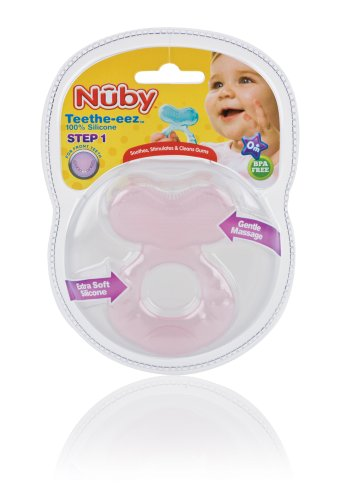 Nuby Silicone Teether with Bristles