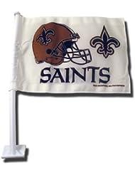 NFL New Orleans Saints Car Flag by Rico Industries