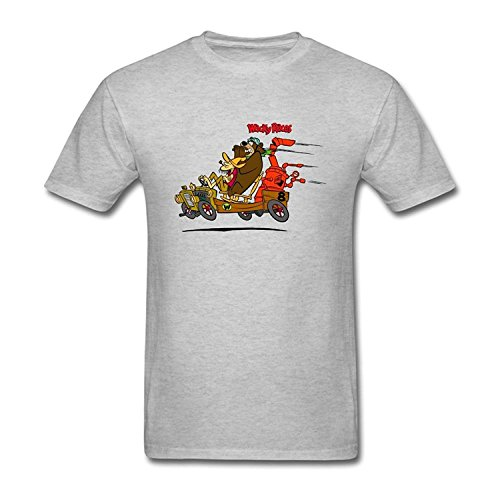Men's Wacky Races Cartoon Design T Shirt