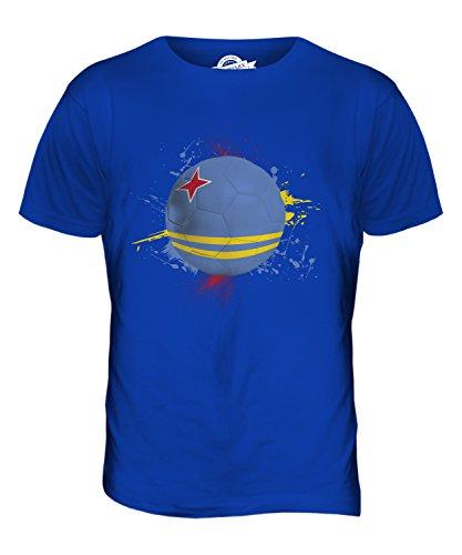 CandyMix Aruba Fußball Herren T Shirt Königsblau